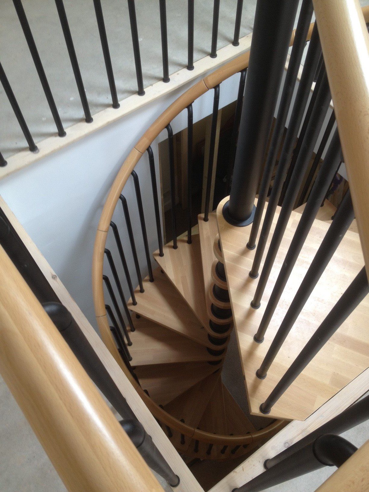 Loft Conversion with spiral staircase