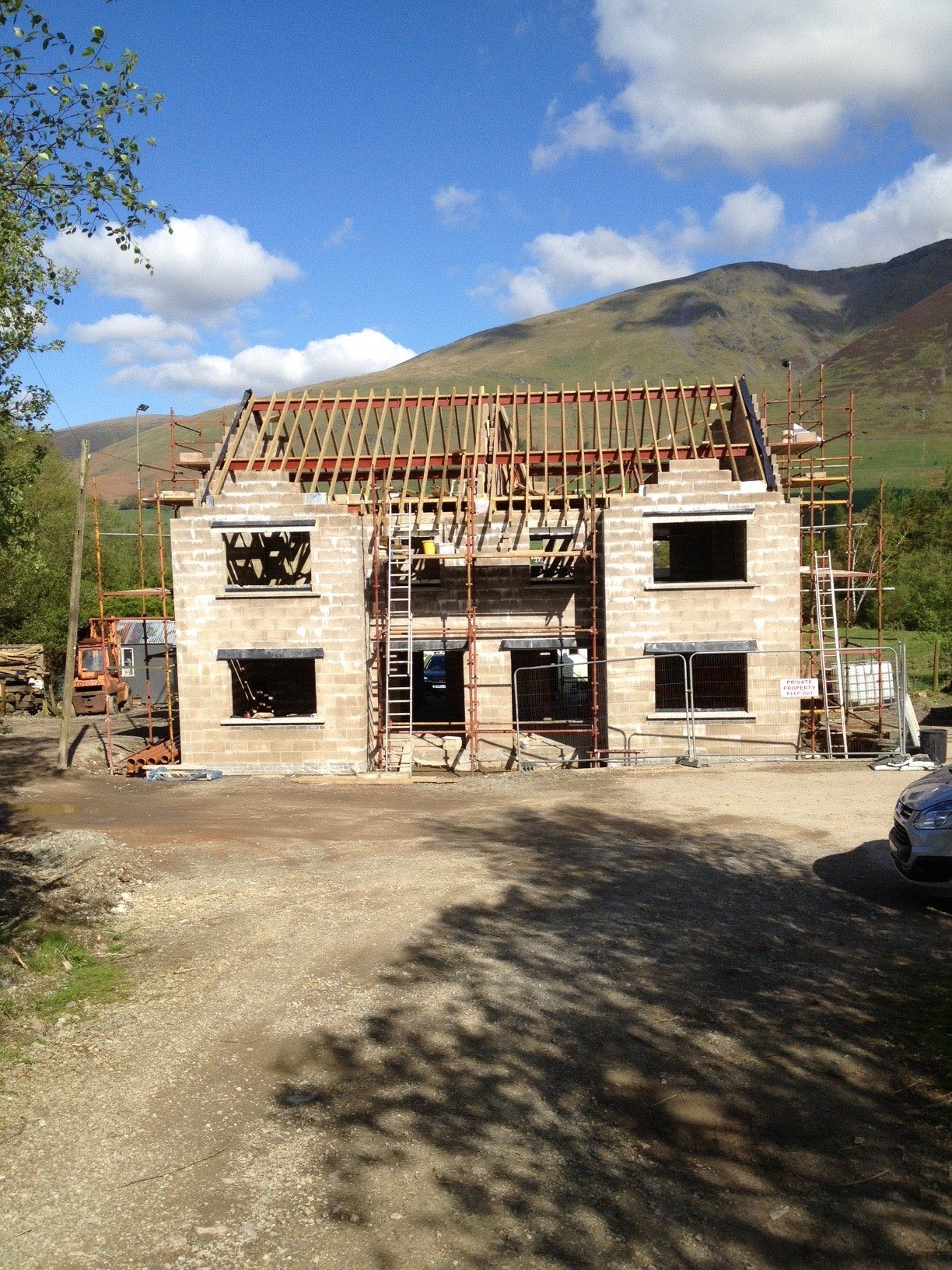 house exterior building work - Threlkeld Keswick